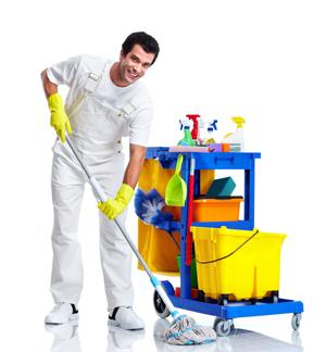 نظافتچی اقا